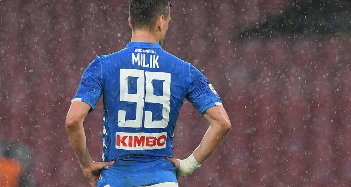 Calciomercato Napoli, Milik è un mistero: lavora ancora a parte