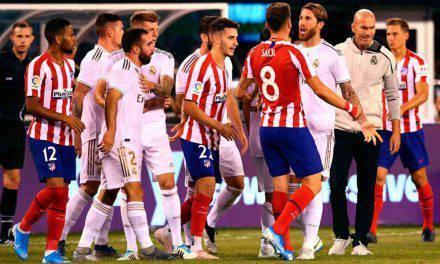 ICC: Atletico-Real 7-3, Diego Costa fa poker e viene espulso. A segno anche Correa
