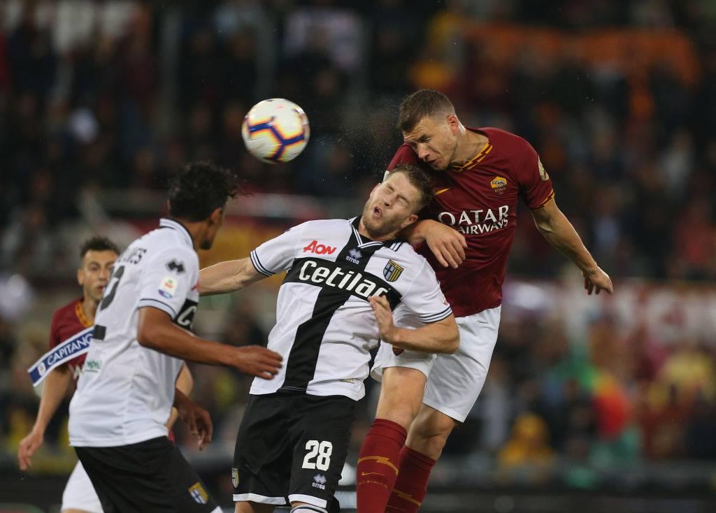 Dzeko frenata Inter: convocato col Perugia