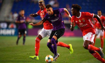 International Champions Cup: Fiorentina-Benfica 1-2, i viola perdono nel recupero