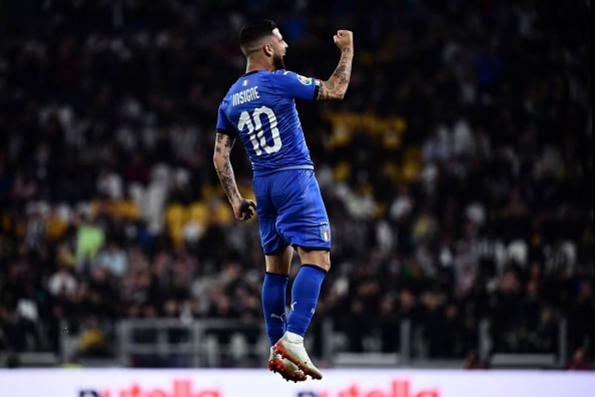 Insigne parla della Juventus