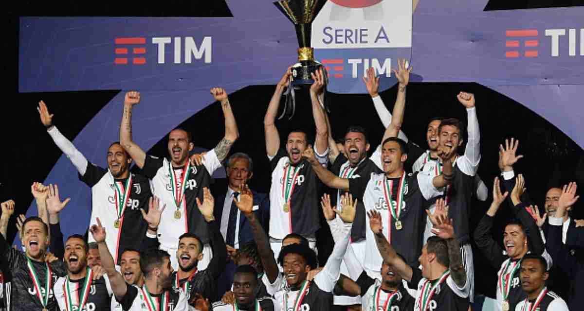 Serie A e Coppa Italia: tutte le date della stagione 2019/20