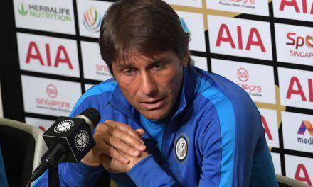 """Inter, Conte: """"Lukaku ci farebbe crescere. Icardi e Nainggolan sono fuori""""."""
