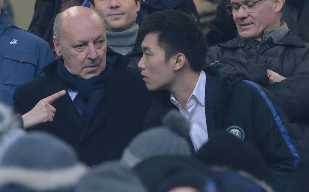 Marotta sull'incontro con Zhang