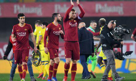 Perugia-Roma 1-3: Mancini e Dzeko, espugnato il Renato Curi
