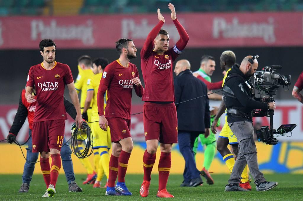 La Roma vince di misura a Perugia