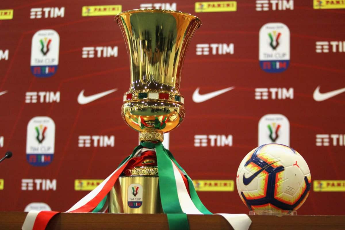 Coppa Italia date e orari ottavi di finale