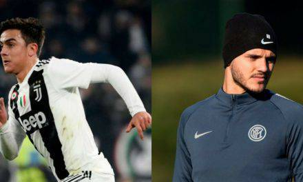 Calciomercato Juventus: Dybala chiama Icardi e apre allo scambio, CR7 approva