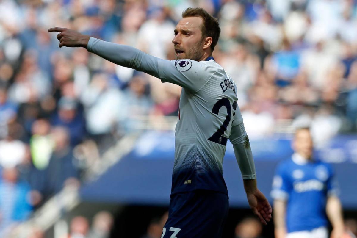 Eriksen rifiuta il Tottenham si libera a zero