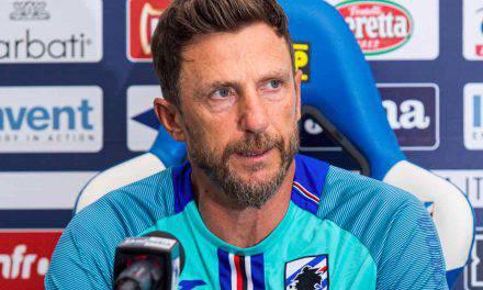"""Sampdoria, Di Francesco: """"Non parlo di mercato. Voglio un calcio verticale"""""""