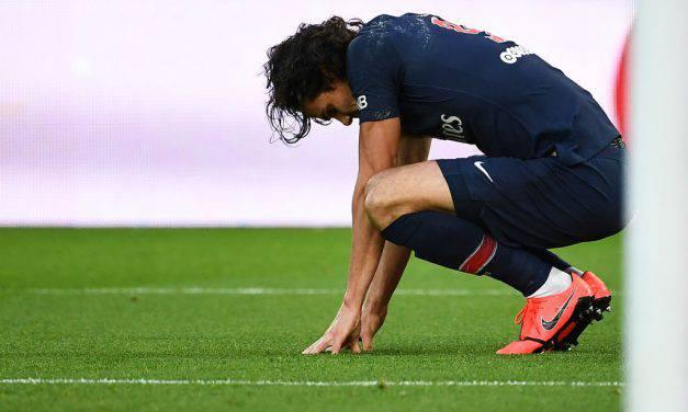 Ligue 1, tegola PSG: infortunati Cavani e Mbappè