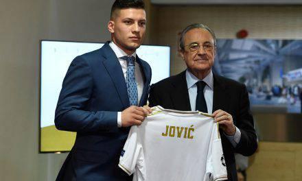 """Calciomercato Milan, parla Jovic: """"Io in prestito? No. Sto bene in Spagna"""""""