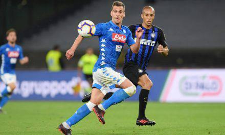Dzeko gela l'Inter, prende quota lo scambio Icardi-Milik col Napoli