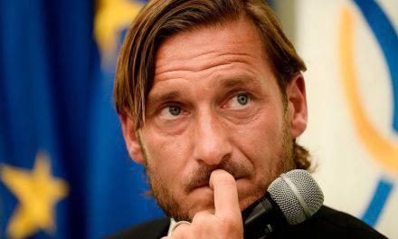 """Totti: """"Scudetto? Inter e Napoli possono infastidire la Juve"""""""