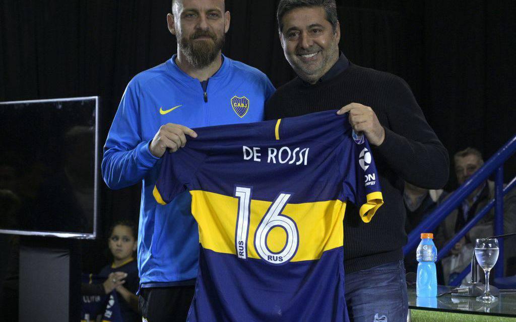 De Rossi, esordio con il Boca Juniors