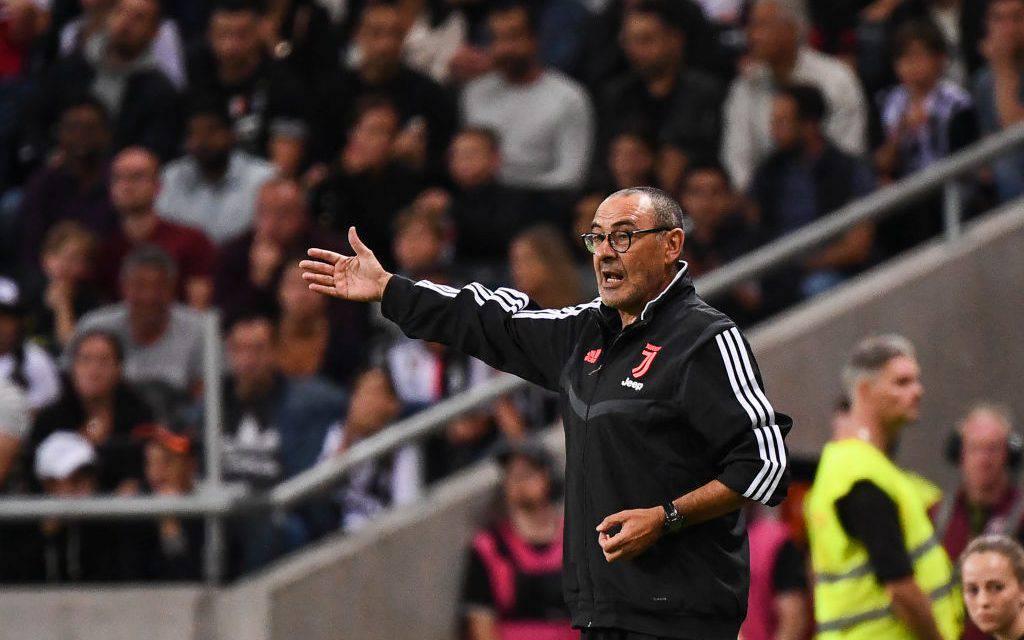 Juventus, Maurizio Sarri ai box: non ha diretto l'allenamento a causa della polmonite