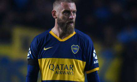 De Rossi, gol all'esordio in Boca Juniors Almagro (Video)
