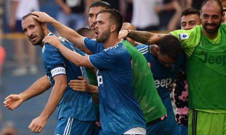 Parma-Juventus 0-1, la decide Chiellini: vittoria sofferta per i bianconeri