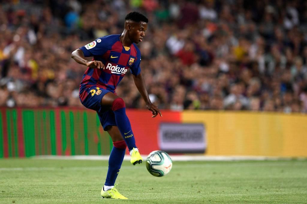 Ansu Fati, gioiello del Barcellona