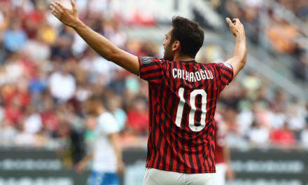 Milan-Brescia 1-0, Calhanoglu rilancia i rossoneri