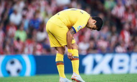 Barcellona, infortunio Suarez: lesione muscolare. Almeno venti giorni di stop