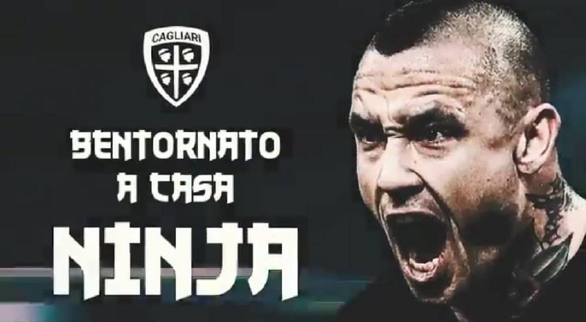 Nainggolan al Cagliari