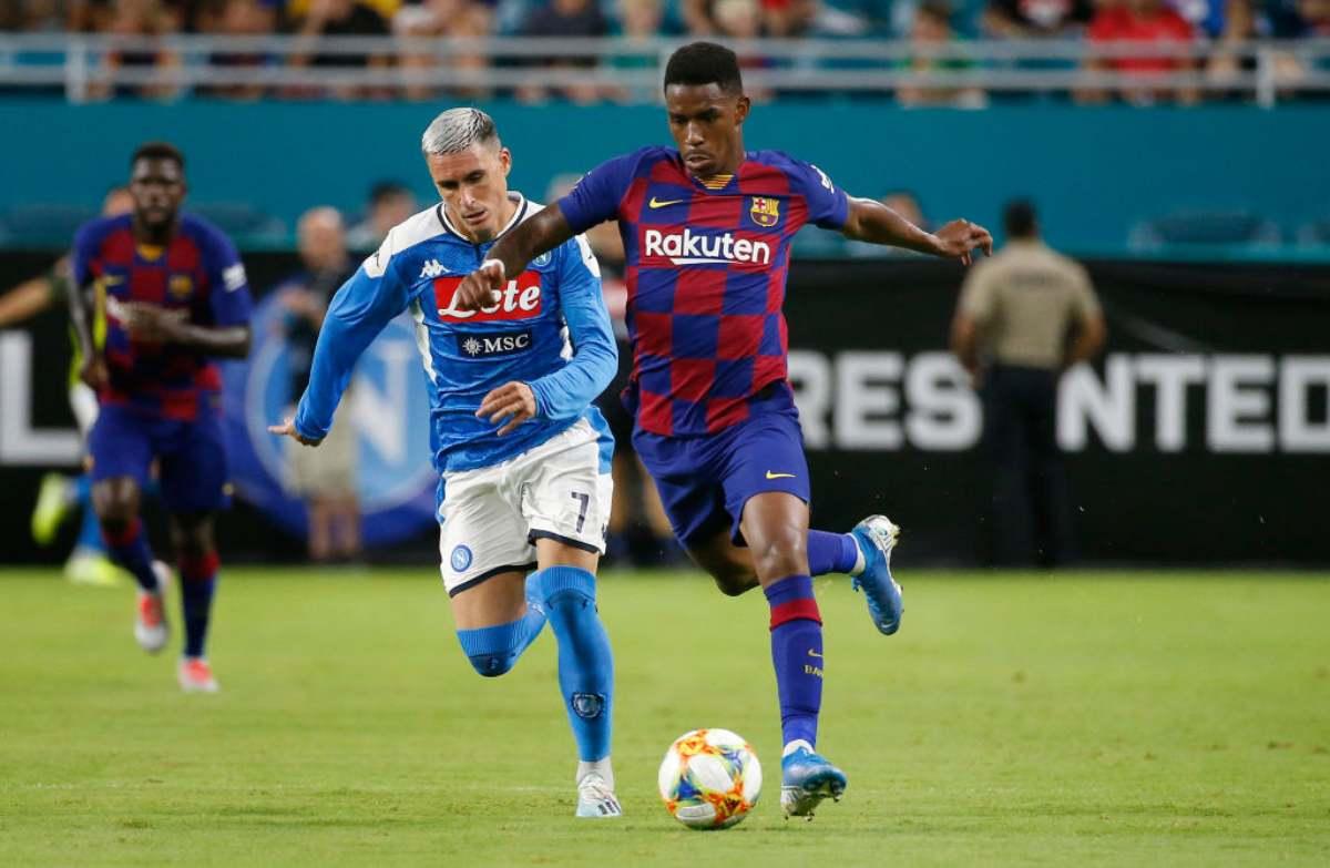 Napoli-Barcellona finisce 1-2