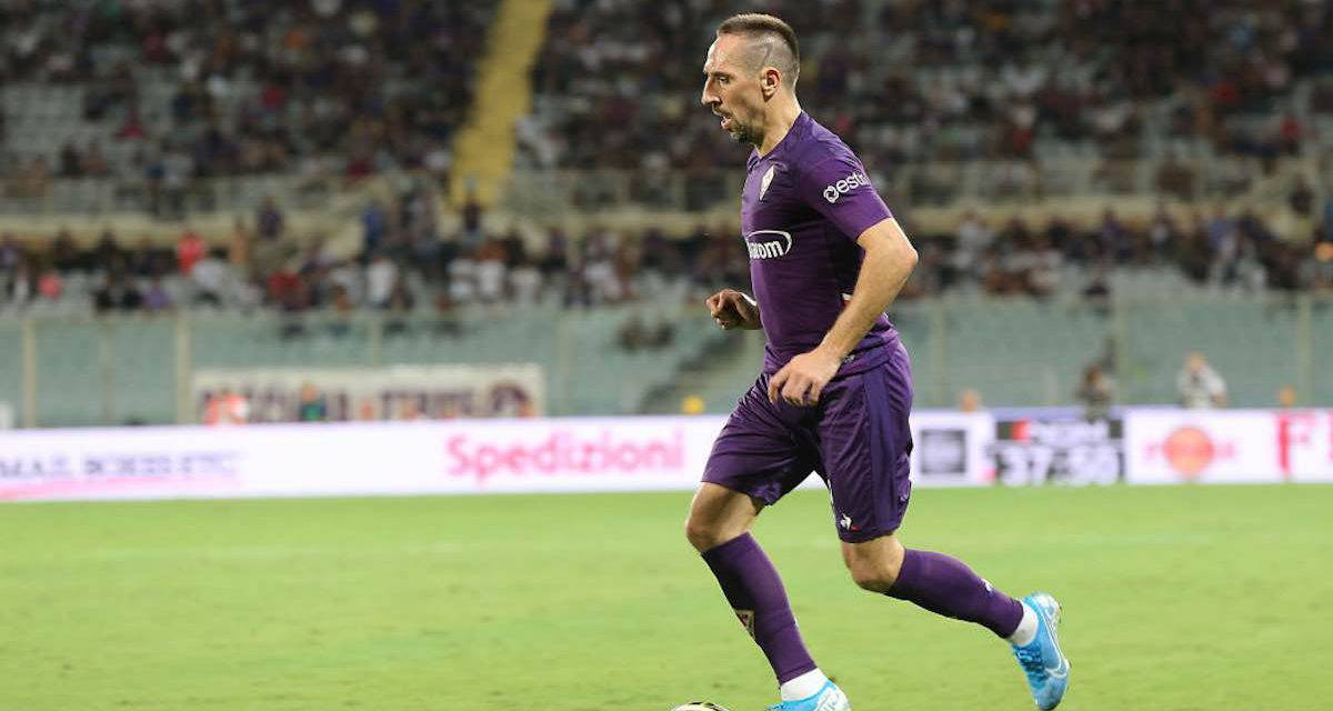 """Fiorentina, Ribery: """"Orgoglioso dell'esordio. Peccato per il risultato"""""""