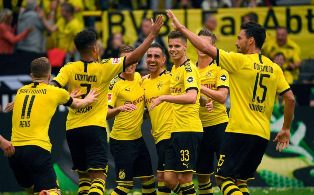 Bundesliga: Borussia Dortmund, goleada con l'Augsburg. I risultati del 17 agosto