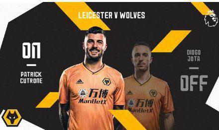 Cutrone, esordio in Premier League: 15′ in campo per l'ex Milan in Leicester-Wolverhampton