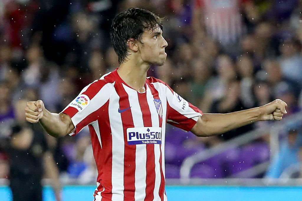Joao Felix, doppietta in Atletico-Juve