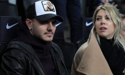 Inter, Wanda Nara chiede reintegro Icardi ma solo per gli allenamenti