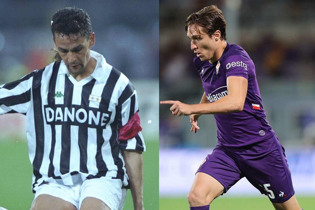 Fiorentina-Juventus, da Baggio a Chiesa