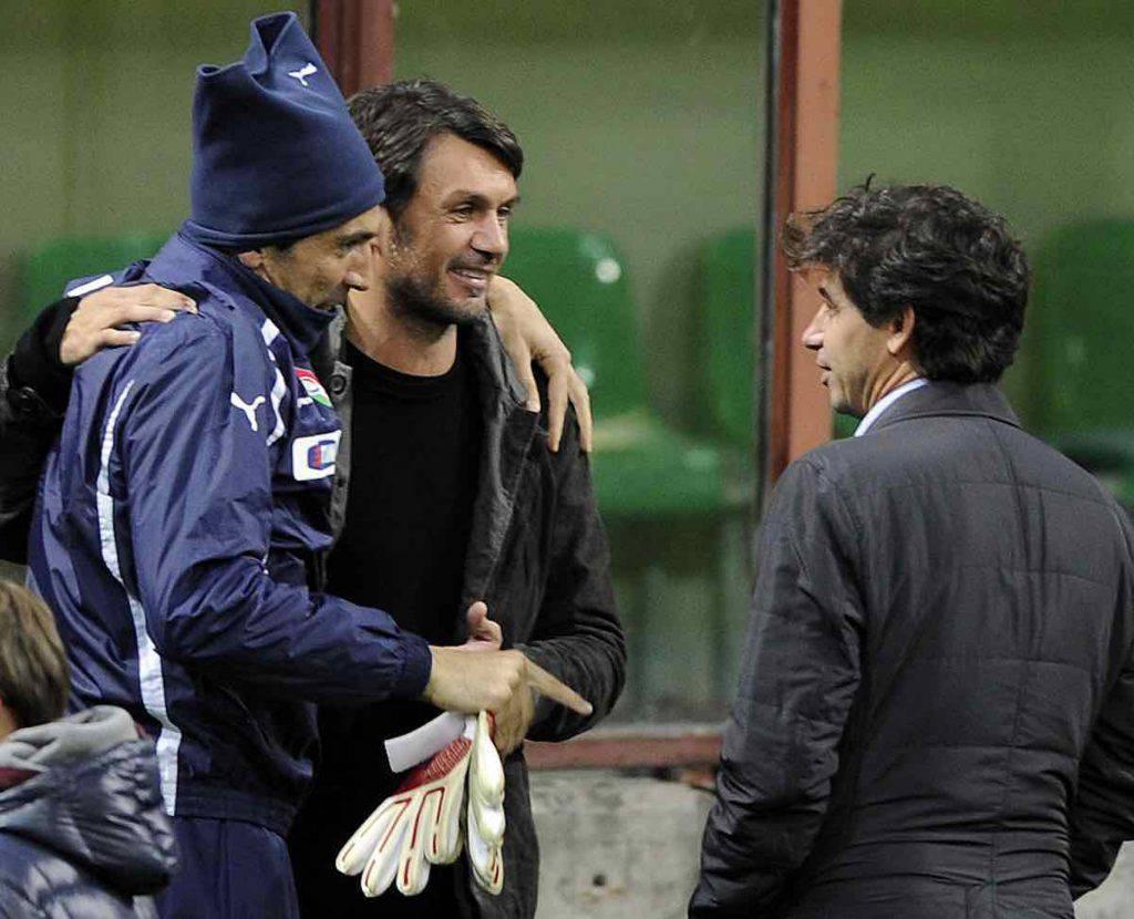 Buffon insegue ancora Maldini