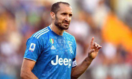 Juventus, Chiellini capitano vero: sarà in panchina da infortunato