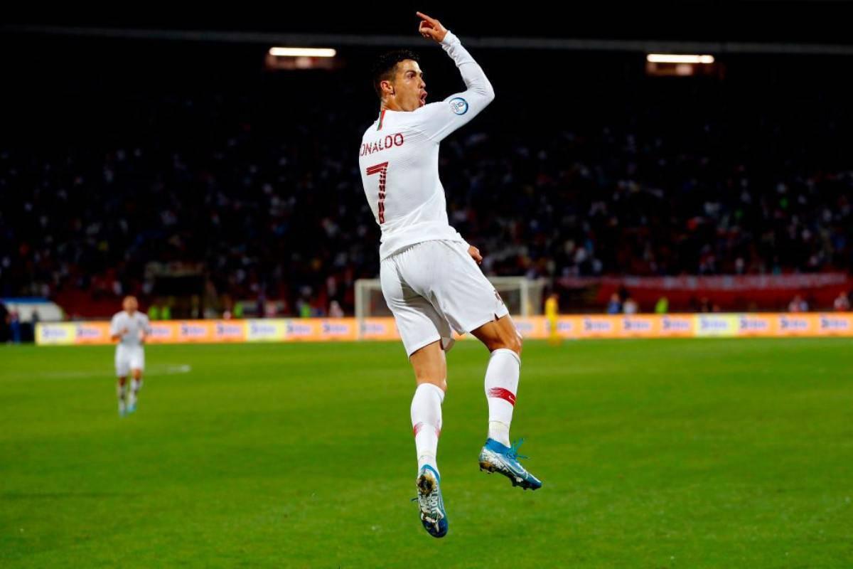 Cristiano Ronaldo in campo per le qualificazioni