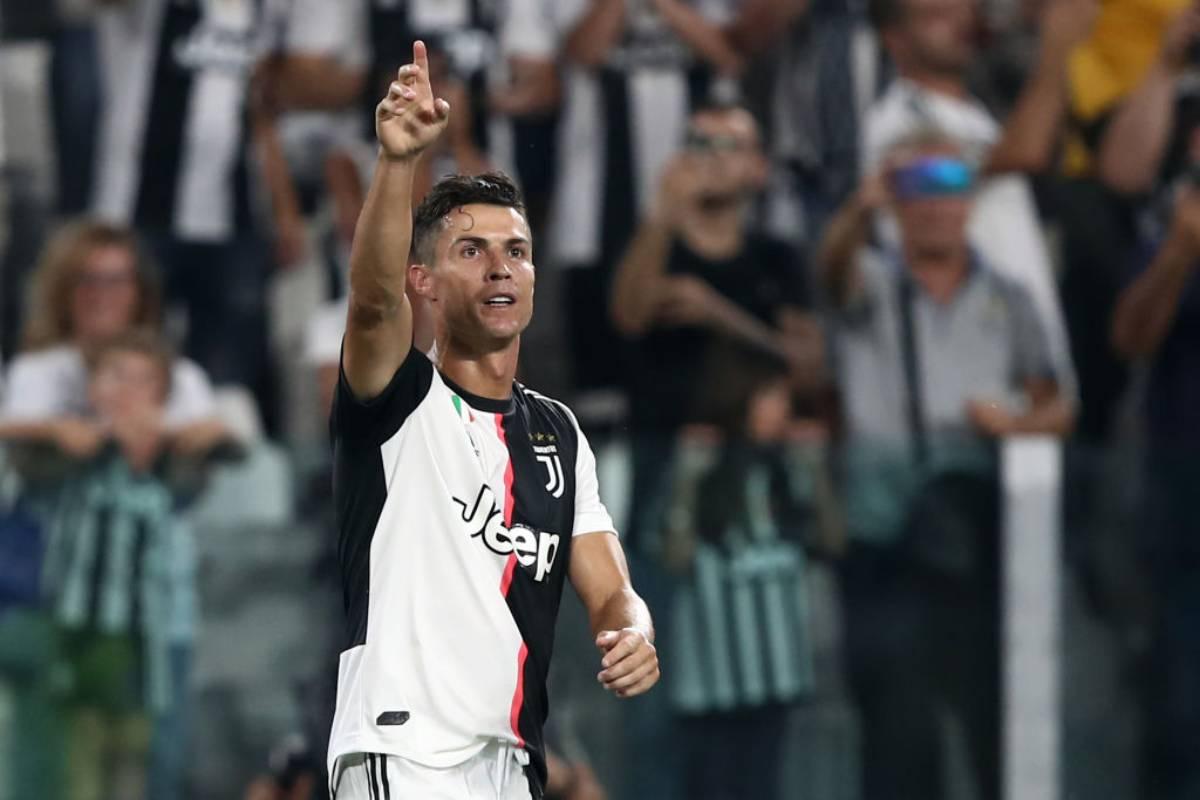 Cristiano Ronaldo a caccia del gol