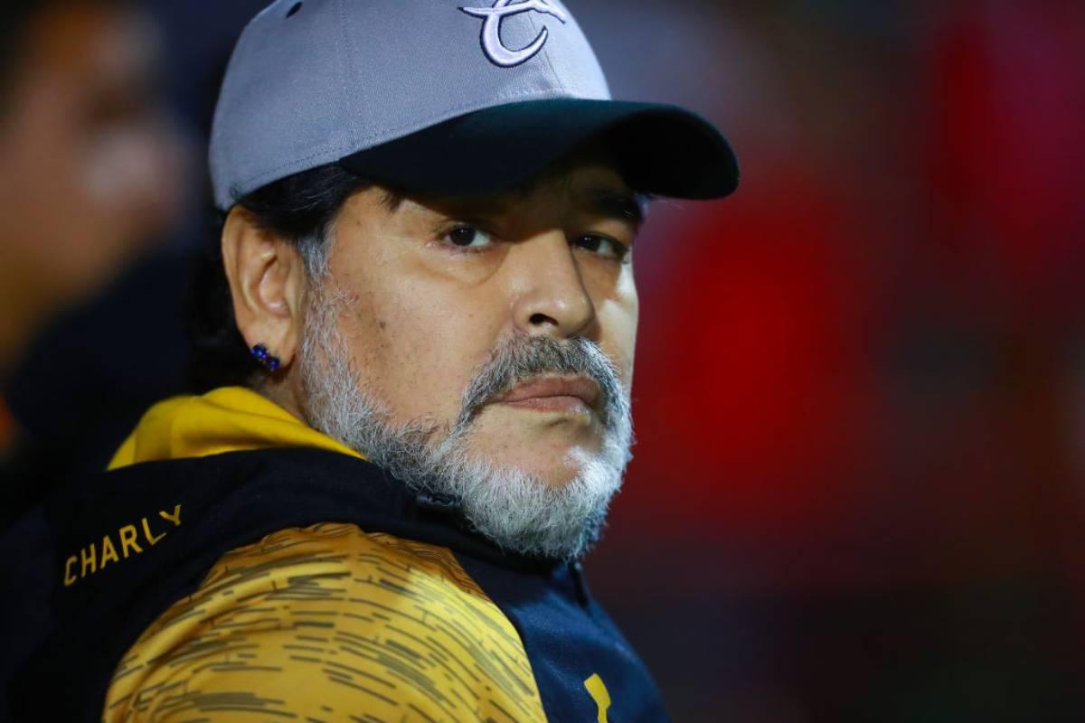Maradona nuovo allenatore del Gimnasia