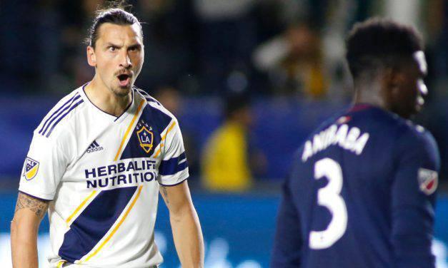 Ibrahimovic da record con i Los Angeles Galaxy, superato il primato di gol di Ruiz