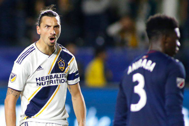 Zlatan Ibrahimovic, record in MLS