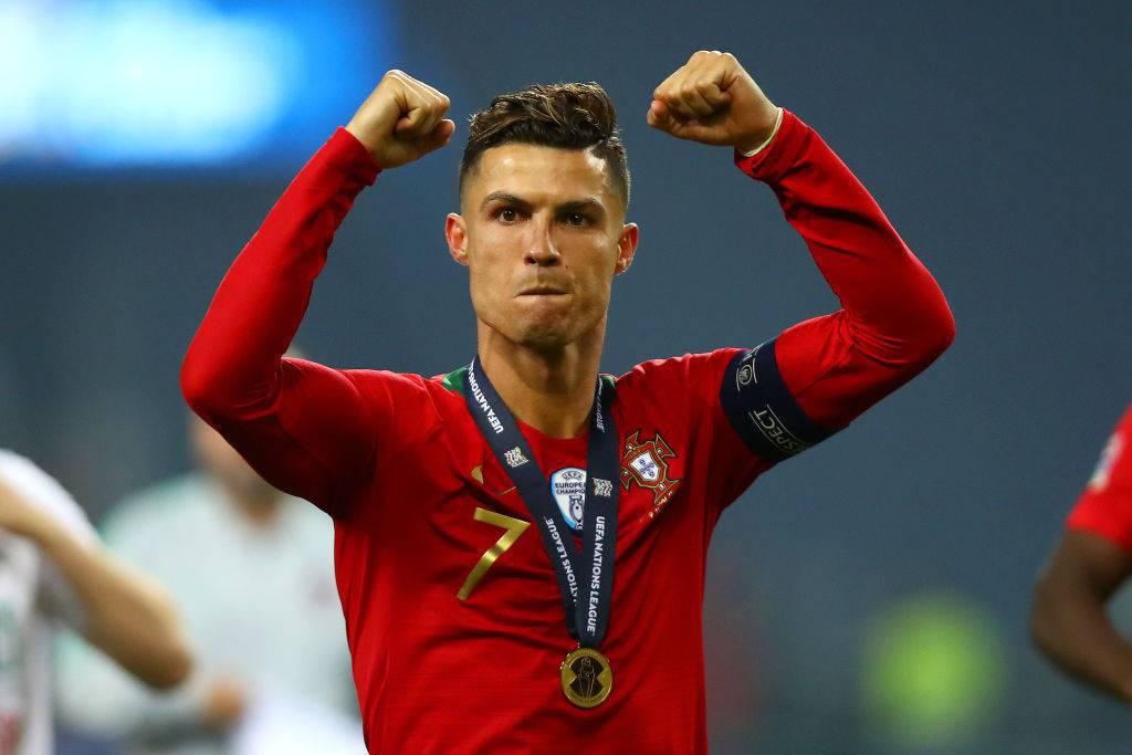 La Juventus celebra Cristiano Ronaldo
