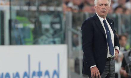 """Napoli, Ancelotti accusa: """"Spogliatoi San Paolo indegni"""""""