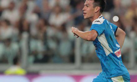"""Napoli, Lozano: """"Cristiano Ronaldo mi ha fatto i complimenti"""""""