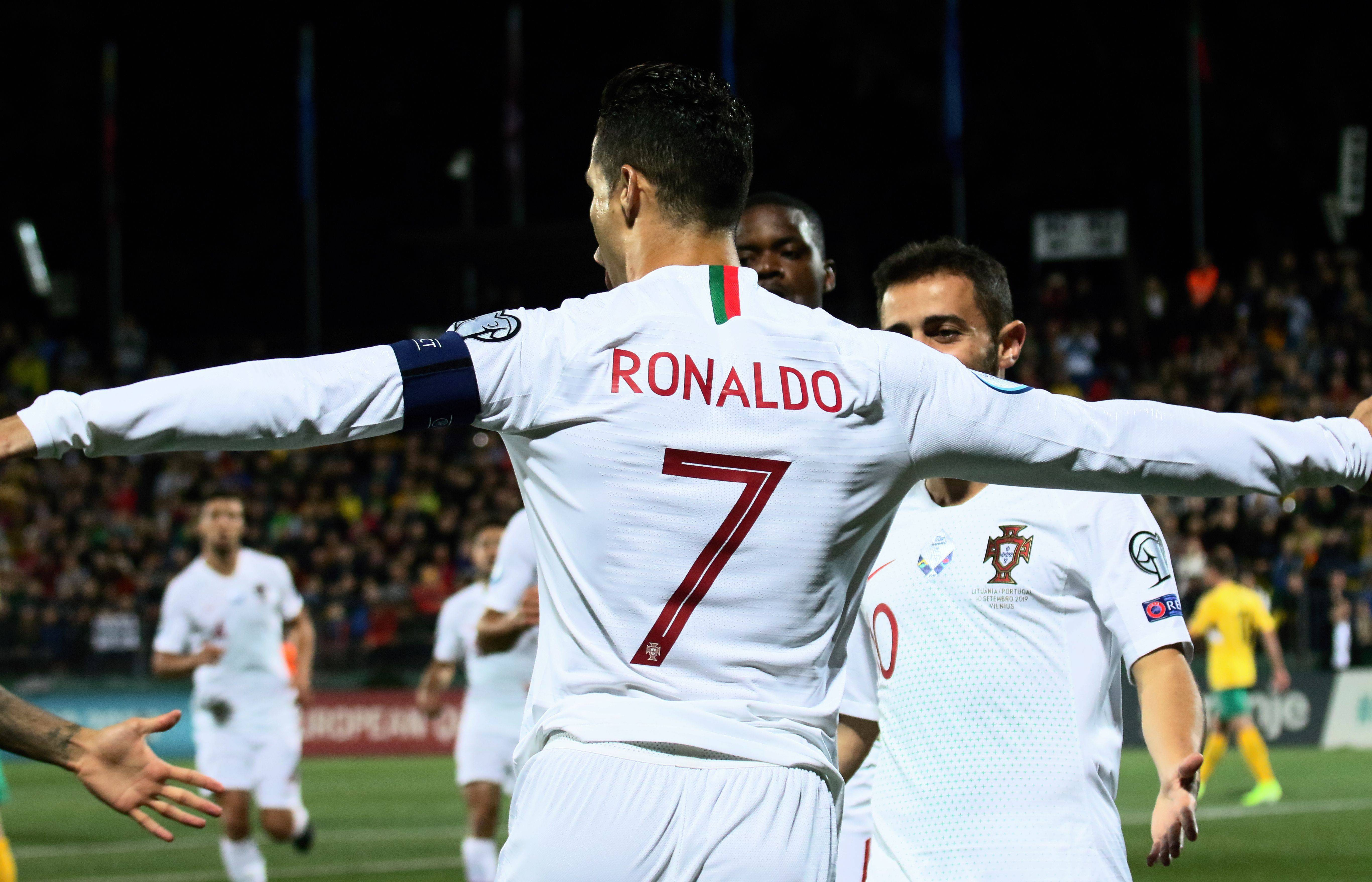 Cristiano Ronaldo a caccia di record