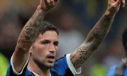 Inter-Udinese 1-0, Sensi ancora in gol. Conte è primo