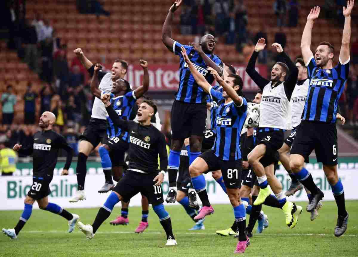 Inter in testa alla classifica della Serie A a punteggio pieno