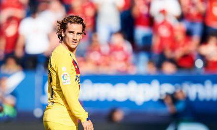 """Barcellona, anche Griezmann contro l'omofobia. """"Stop alle partite"""""""
