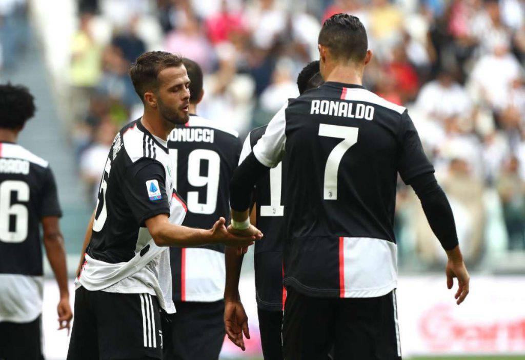 Serie A, Juventus-Spal 2-0: apre Pjanic, chiude Cristiano Ronaldo