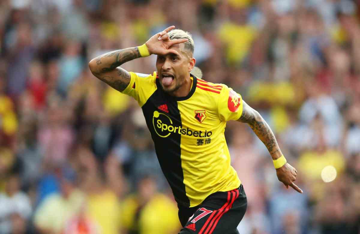 Watford-Arsenal 2-2, Pereyra completa la rimonta