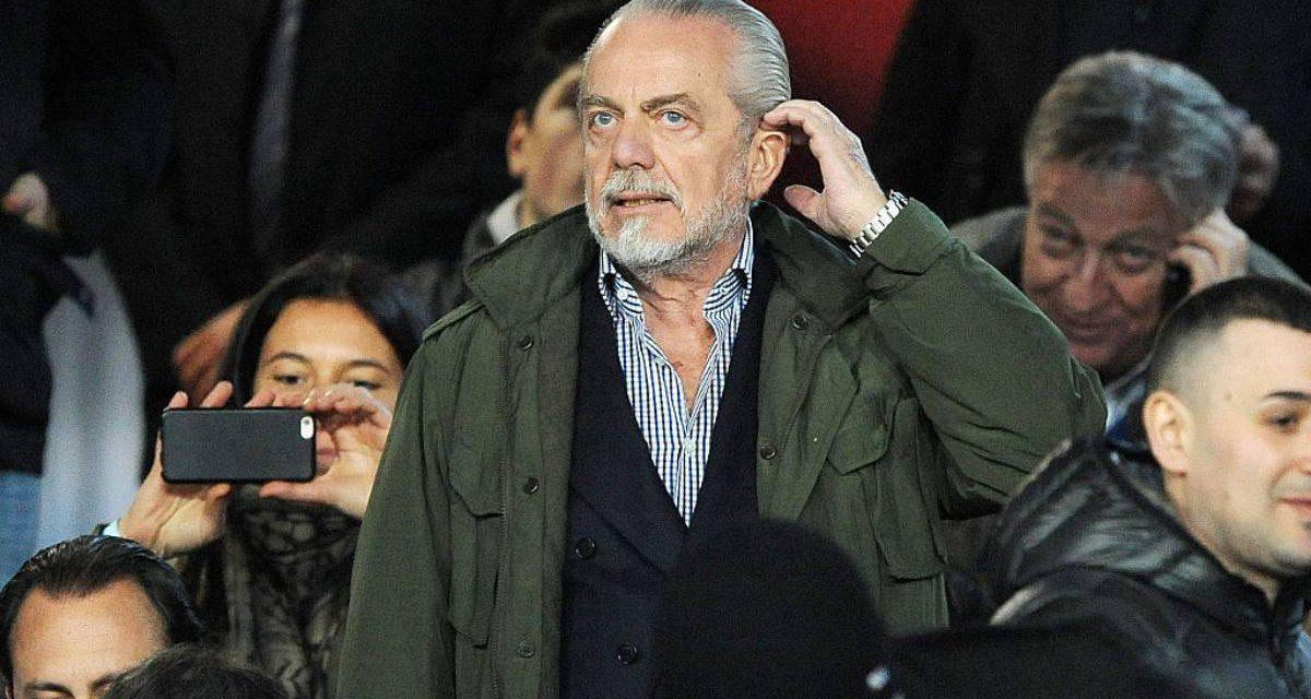 "Napoli, De Laurentiis tuona sul San Paolo: ""Lo Stato intervenga"""